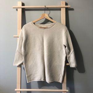 Aritzia Wilfred silk & cashmere blend sweater
